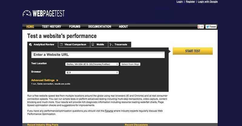 Test WebPage